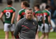 1 July 2017; Mayo manager Stephen Rochford before the start of the GAA Football All-Ireland Senior Championship Round 2A match between Mayo and Derry at Elverys MacHale Park, in Castlebar, Co Mayo. Photo by David Maher/Sportsfile