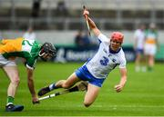 1 July 2017; Tadhg de Burca of Waterford is fouled by Ben Conneely of Offaly during the GAA Hurling All-Ireland Senior Championship Round 1 match between Offaly and Waterford at Bord na Móna O'Connor Park in Tullamore, Co Offaly. Photo by Sam Barnes/Sportsfile
