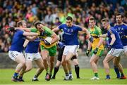 1 July 2017; Michael Murphy of Donegal  in action against Padraig McCormack of Longford during the GAA Football All-Ireland Senior Championship Round 2A match between Donegal and Longford at MacCumhaill Park in Ballybofey, Co Donegal. Photo by Oliver McVeigh/Sportsfile