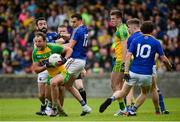 1 July 2017; Michael Murphy of Donegal in action against Diarmuid Masterson and Darren Gallagher of Longford during the GAA Football All-Ireland Senior Championship Round 2A match between Donegal and Longford at MacCumhaill Park in Ballybofey, Co Donegal. Photo by Oliver McVeigh/Sportsfile