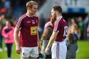 1 July 2017; Noel McGrath of Tipperary in conversation with Cormac Boyle of Westmeath after the GAA Hurling All-Ireland Senior Championship Round 1 match between Tipperary and Westmeath at Semple Stadium in Thurles, Co Tipperary. Photo by Diarmuid Greene/Sportsfile