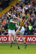 1 July 2017; Paul Murphy of Kilkenny in action against David Dempsey of Limerick during the GAA Hurling All-Ireland Senior Championship Round 1 match between Kilkenny and Limerick at Nowlan Park in Kilkenny. Photo by Ray McManus/Sportsfile