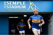 1 July 2017; Padraic Maher of Tipperary makes his way out for the GAA Hurling All-Ireland Senior Championship Round 1 match between Tipperary and Westmeath at Semple Stadium in Thurles, Co Tipperary. Photo by Diarmuid Greene/Sportsfile