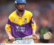 7 July 2002; Joe Codd, Wexford Minor. Hurling. Picture credit; Ray McManus / SPORTSFILE