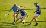 1 July 2017; Cahir Healy of Laois in action against Eamon Dillon of Dublin during the GAA Hurling All-Ireland Senior Championship Round 1 match between Dublin and Laois at Parnell Park in Dublin. Photo by David Fitzgerald/Sportsfile