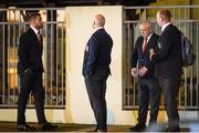 2 July 2017; Sean O'Brien of the British & Irish Lions arrives at New Zealand Rugby Offices in Wellington for a judicial hearing after being cited for dangerous play during the second Test of the NZ Lions Series, held at Westpac Stadium, Wellington. Photo by Mark Tantrum/Sportsfile