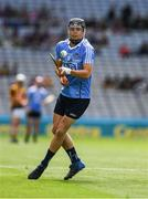 2 July 2017; Seán Currie of Dublin scores a point, from a free, during the Electric Ireland Leinster GAA Hurling Minor Championship Final match between Dublin and Kilkenny at Croke Park in Dublin. Photo by Ray McManus/Sportsfile