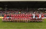 2 July 2017; Cork squad ahead of the Munster GAA Football Senior Championship Final match between Kerry and Cork at Fitzgerald Stadium in Killarney, Co Kerry. Photo by Eóin Noonan/Sportsfile
