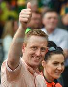 2 July 2017; Former Kerry footballer Colm Cooper in attendance during the Munster GAA Football Senior Championship Final match between Kerry and Cork at Fitzgerald Stadium in Killarney, Co Kerry. Photo by Brendan Moran/Sportsfile