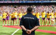 2 July 2017; Wexford manager Davy Fitzgerald before the Leinster GAA Hurling Senior Championship Final match between Galway and Wexford at Croke Park in Dublin. Photo by Ray McManus/Sportsfile