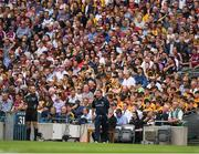 2 July 2017; Wexford manager Davy Fitzgerald during the Leinster GAA Hurling Senior Championship Final match between Galway and Wexford at Croke Park in Dublin. Photo by Ray McManus/Sportsfile