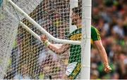 2 July 2017; Paul Geaney of Kerry celebrates after scoring his side's goal during the Munster GAA Football Senior Championship Final match between Kerry and Cork at Fitzgerald Stadium in Killarney, Co Kerry. Photo by Brendan Moran/Sportsfile
