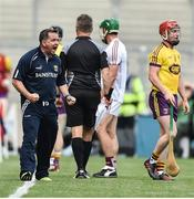 2 July 2017; Davy Fitzgerald manager of Wexford during the Leinster GAA Hurling Senior Championship Final match between Galway and Wexford at Croke Park in Dublin. Photo by David Maher/Sportsfile