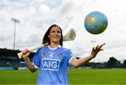 3 July 2017; Dublin camogie player Laura Twomey was in Parnell Park today to help AIG Insurance reveal details of their latest travel insurance offering. Those planning holidays this summer can avail of a 10% discount when they purchase their travel insurance online. Customers can get single trip insurance from only €4.52 and annual multi-trip holiday insurance from only €1.98 per month. Photo by Sam Barnes/Sportsfile