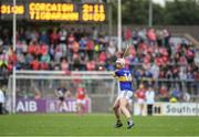 3 July 2017; Anthony McKelvey of Tipperary scoring a point for his side during the Electric Ireland Munster GAA Hurling Minor Championship semi-final replay match between Cork and Tipperary at Páirc Uí Rinn, Cork. Photo by Eóin Noonan/Sportsfile