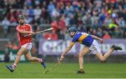 3 July 2017; Craig Hanafin of Cork in action against Robbie Quirke of Tipperary during the Electric Ireland Munster GAA Hurling Minor Championship semi-final replay match between Cork and Tipperary at Páirc Uí Rinn, Cork. Photo by Eóin Noonan/Sportsfile