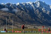 5 July 2017; Conor Murray of the British & Irish Lions during a training session at the Queenstown Events Centre in Queenstown, New Zealand. Photo by Stephen McCarthy/Sportsfile