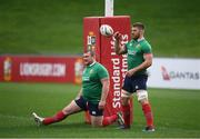 6 July 2017; Sean O'Brien, right, and Jack McGrath during a British and Irish Lions training session at QBE Stadium in Auckland, New Zealand. Photo by Stephen McCarthy/Sportsfile