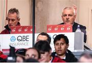 8 July 2017; British & Irish Lions head coach Warren Gatland, right, and attack coach Rob Howley during the Third Test match between New Zealand All Blacks and the British & Irish Lions at Eden Park in Auckland, New Zealand. Photo by Stephen McCarthy/Sportsfile
