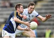 8 July 2017; Bill Maher of Tipperary in action against Gearoid McKiernan of Cavan during the GAA Football All-Ireland Senior Championship Round 2B match between Cavan and Tipperary at Kingspan Breffni Park in Cavan. Photo by David Maher/Sportsfile