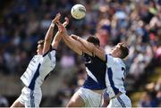 8 July 2017; Niall Murray, left, and Killian Clarke of Cavan in action against Jack Kennedy of Tipperary during the GAA Football All-Ireland Senior Championship Round 2B match between Cavan and Tipperary at Kingspan Breffni Park in Cavan. Photo by David Maher/Sportsfile