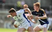 8 July 2017; Tomas Corr of Cavan in action against Brian Fox of Tipperary during the GAA Football All-Ireland Senior Championship Round 2B match between Cavan and Tipperary at Kingspan Breffni Park in Cavan. Photo by David Maher/Sportsfile