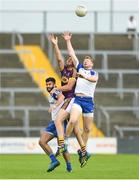 8 July 2017; Kieran Hughes of Monaghan in action against Daithí Waters of Wexford during the GAA Football All-Ireland Senior Championship Round 2B match between Wexford and Monaghan at Innovate Wexford Park in Co Wexford. Photo by Eóin Noonan/Sportsfile