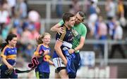 8 July 2017; Robbie Kiely of Tipperary celebrates with supporters at the end of the GAA Football All-Ireland Senior Championship Round 2B match between Cavan and Tipperary at Kingspan Breffni Park in Cavan. Photo by David Maher/Sportsfile