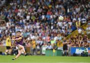 8 July 2017; Ben Brosnan of Wexford scoring a point for his side during the GAA Football All-Ireland Senior Championship Round 2B match between Wexford and Monaghan at Innovate Wexford Park in Co Wexford. Photo by Eóin Noonan/Sportsfile