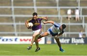 8 July 2017; Daithi Waters of Wexford in action against Neil McAdam of Monaghan during the GAA Football All-Ireland Senior Championship Round 2B match between Wexford and Monaghan at Innovate Wexford Park in Co Wexford. Photo by Eóin Noonan/Sportsfile