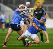 8 July 2017; John McGrath of Tipperary in action against Cian O'Callaghan of Dublin during the GAA Hurling All-Ireland Senior Championship Round 2 match between Dublin and Tipperary at Semple Stadium in Thurles, Co Tipperary. Photo by Brendan Moran/Sportsfile