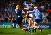 8 July 2017; John McGrath of Tipperary scores his side's second goal past Dublin goalkeeper Conor Dooley and Cian O'Callaghan during the GAA Hurling All-Ireland Senior Championship Round 2 match between Dublin and Tipperary at Semple Stadium in Thurles, Co Tipperary. Photo by Brendan Moran/Sportsfile
