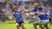 8 July 2017; Ryan O'Dwyer of Dublin in action against Tomás Hamill, 3, and Padraic Maher of Tipperary during the GAA Hurling All-Ireland Senior Championship Round 2 match between Dublin and Tipperary at Semple Stadium in Thurles, Co Tipperary. Photo by Ray McManus/Sportsfile