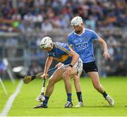 8 July 2017; Brendan Maher of Tipperary in action against Shane Barrett of Dublin during the GAA Hurling All-Ireland Senior Championship Round 2 match between Dublin and Tipperary at Semple Stadium in Thurles, Co Tipperary. Photo by Ray McManus/Sportsfile