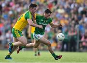 8 July 2017; Donal Keogan of Meath in action against Patrick McBrearty of Donegal during the GAA Football All-Ireland Senior Championship Round 3A match between Meath and Donegal at Páirc Tailteann in Navan, Co Meath. Photo by David Maher/Sportsfile