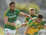8 July 2017; Graham Reilly of Meath in action against of Paddy McBrearty of Donegal during the GAA Football All-Ireland Senior Championship Round 3A match between Meath and Donegal at Páirc Tailteann in Navan, Co Meath. Photo by David Maher/Sportsfile
