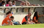 8 July 2017; Jamie Clarke of Armagh dejected after being sent off for a black card offence early in the first half during the GAA Football All-Ireland Senior Championship Round 2B match between Westmeath and Armagh at TEG Cusack Park in Mullingar, Co Westmeath. Photo by Piaras Ó Mídheach/Sportsfile