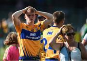 8 July 2017; Pierce Lilllis of Clare reacts after the GAA Football All-Ireland Senior Championship Round 3A match between Clare and Mayo at Cusack Park in Ennis, Co Clare. Photo by Diarmuid Greene/Sportsfile