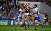 8 July 2017; Colin Fennelly of Kilkenny in action against Tadhg de Burca, left, and Philip Mahony of Waterford during the GAA Hurling All-Ireland Senior Championship Round 2 match between Waterford and Kilkenny at Semple Stadium in Thurles, Co Tipperary. Photo by Brendan Moran/Sportsfile