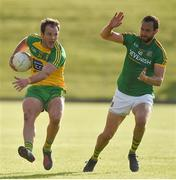 8 July 2017; Michael Murphy of Donegal in action against Graham Reilly of Meath during the GAA Football All-Ireland Senior Championship Round 3A match between Meath and Donegal at Páirc Tailteann in Navan, Co Meath. Photo by David Maher/Sportsfile