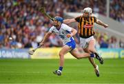 8 July 2017; Patrick Curran of Waterford in action against Michael Fennelly of Kilkenny during the GAA Hurling All-Ireland Senior Championship Round 2 match between Waterford and Kilkenny at Semple Stadium in Thurles, Co Tipperary. Photo by Brendan Moran/Sportsfile