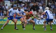 8 July 2017; Cillian Buckley of Kilkenny in action against Michael Walsh, left, Jake Dillon and Shane Bennett of Waterford during the GAA Hurling All-Ireland Senior Championship Round 2 match between Waterford and Kilkenny at Semple Stadium in Thurles, Co Tipperary. Photo by Brendan Moran/Sportsfile
