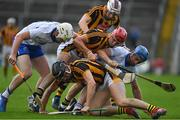 8 July 2017; Shane Bennett, left, and Michael Walsh of Waterford compete or possession with Kilkenny players, Cillian Buckley, Joe Lyng and Lester Ryan during the GAA Hurling All-Ireland Senior Championship Round 2 match between Waterford and Kilkenny at Semple Stadium in Thurles, Co Tipperary. Photo by Brendan Moran/Sportsfile