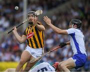 8 July 2017; Richie Hogan of Kilkenny in action against Conor Gleeson of Waterford during the GAA Hurling All-Ireland Senior Championship Round 2 match between Waterford and Kilkenny at Semple Stadium in Thurles, Co Tipperary. Photo by Ray McManus/Sportsfile