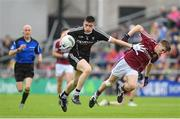 9 July 2017; Evan Lavin of Sligo is tackled by Liam Boyle of Galway during the Electric Ireland Connacht GAA Football Minor Championship Final between Galway and  Sligo at Pearse Stadium in Galway. Photo by Ramsey Cardy/Sportsfile