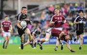 9 July 2017; Evan Lavin of Sligo beats the tackle by Liam Boyle of Galway during the Electric Ireland Connacht GAA Football Minor Championship Final between Galway and  Sligo at Pearse Stadium in Galway. Photo by Ramsey Cardy/Sportsfile