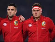 8 July 2017; Conor Murray and CJ Stander of the British & Irish Lions during the Third Test match between New Zealand All Blacks and the British & Irish Lions at Eden Park in Auckland, New Zealand. Photo by Stephen McCarthy/Sportsfile