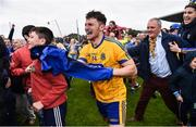 9 July 2017; Roscommon's Diarmuid Murtagh following their victory in the Connacht GAA Football Senior Championship Final match between Galway and Roscommon at Pearse Stadium in Galway. Photo by Ramsey Cardy/Sportsfile
