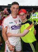 9 July 2017; Cork goalkeeper Anthony Nash with Richard Barrett, from Charleville, after the Munster GAA Hurling Senior Championship Final match between Clare and Cork at Semple Stadium in Thurles, Co Tipperary. Photo by Ray McManus/Sportsfile