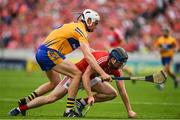 9 July 2017; Conor Lehane of Cork is tackled by Connor Ceary of Clare during the Munster GAA Hurling Senior Championship Final match between Clare and Cork at Semple Stadium in Thurles, Co Tipperary. Photo by Brendan Moran/Sportsfile